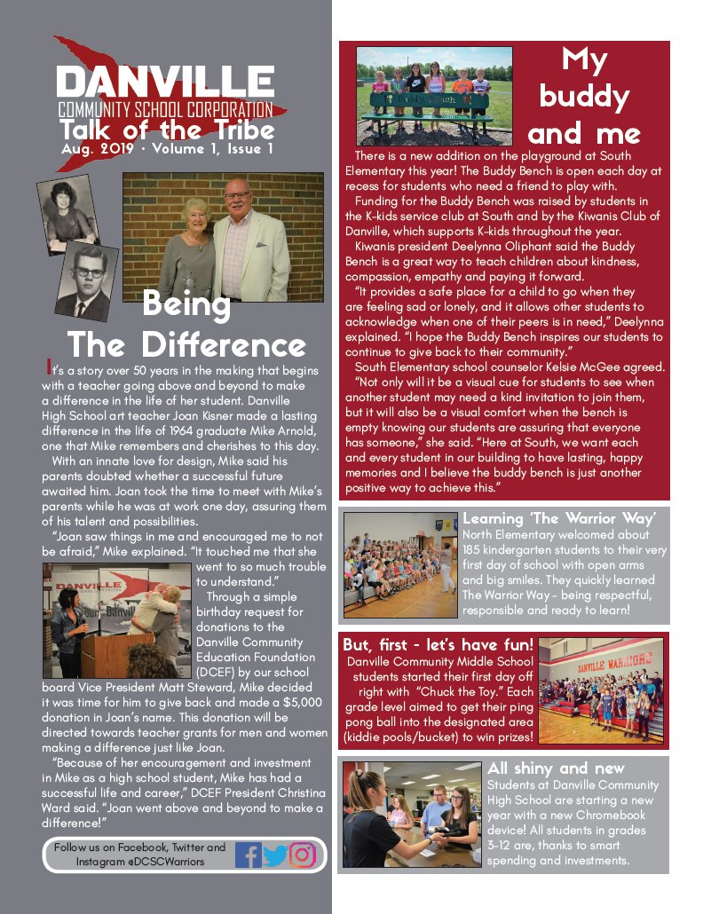 2019-20 newsletter collection