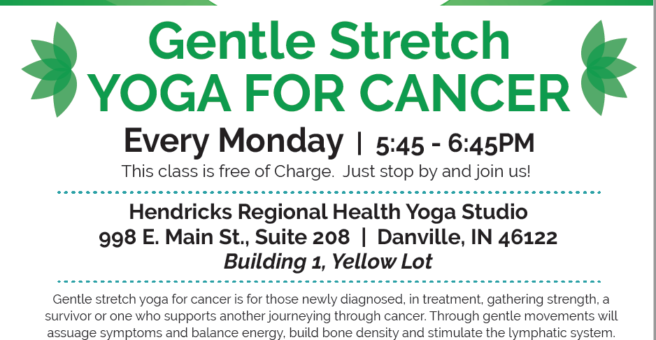 Gentle Stretch Yoga for Cancer