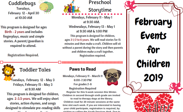 DPL Events for Children