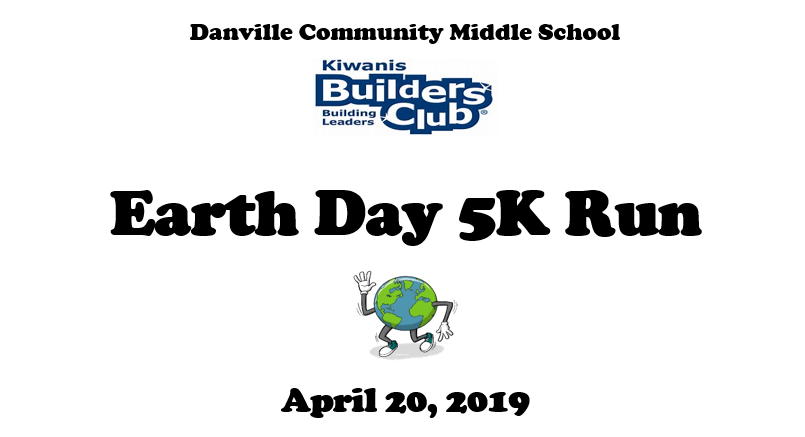 DCMS Builders Club Earth Day 5K