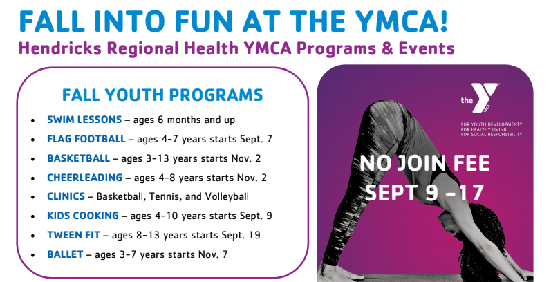 HRH YMCA Fall Programs