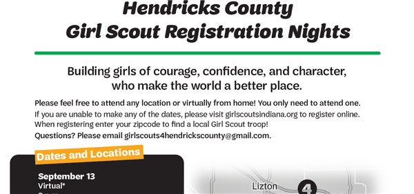 Hendricks County Girl Scouts Registration